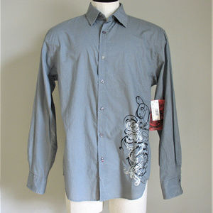 Drill Clothing Company Button Up Long Sleeve Shirt